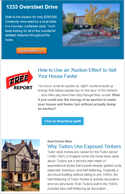 Real estate newsletter naming exercise 3