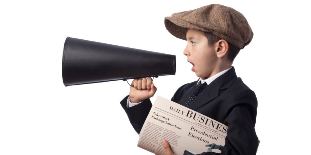 Fast Newsletters megaphone