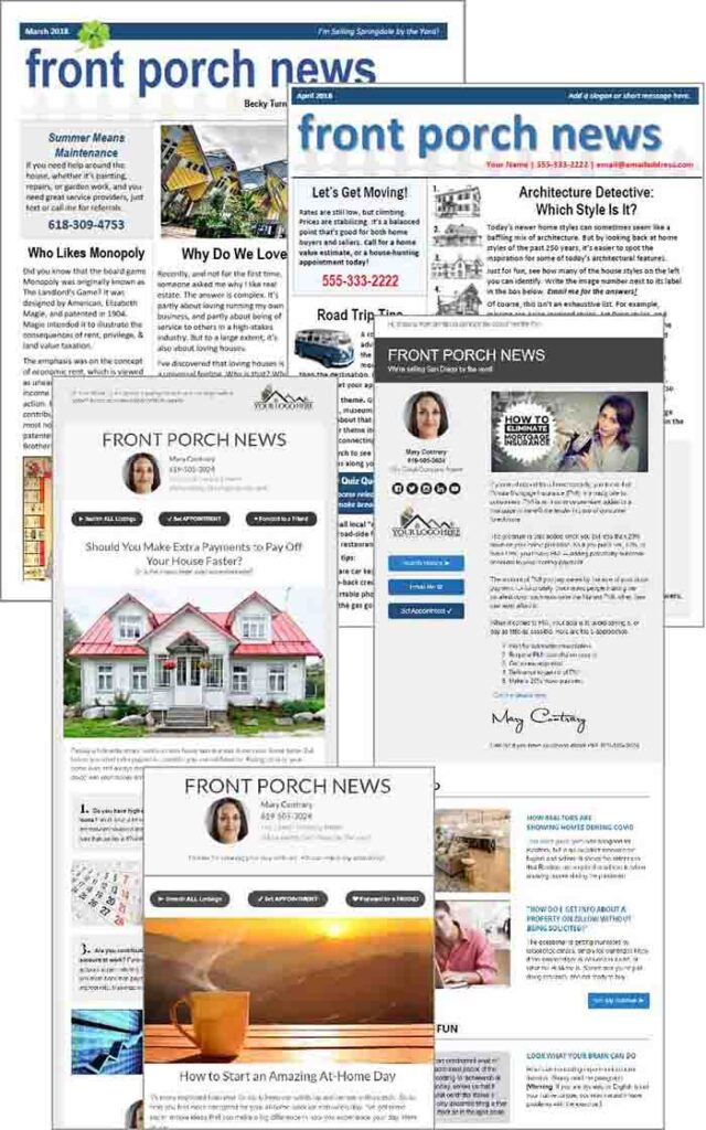 Fast newsletters collection
