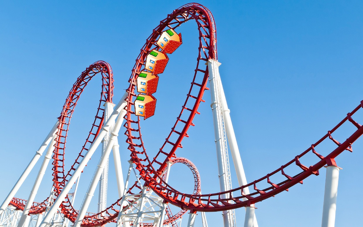 A real estate business plan smooths out the roller coaster of real estate business